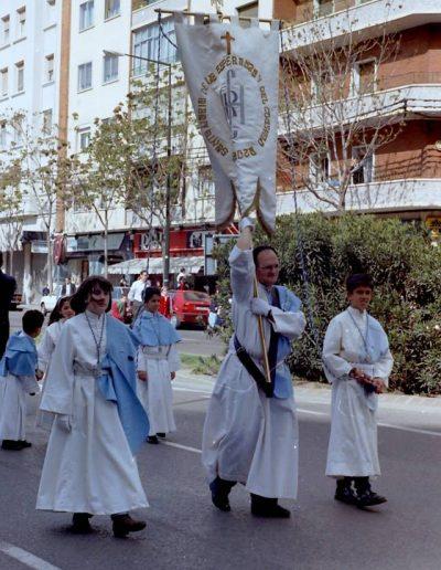 Foto años 80-90 de Semana Santa