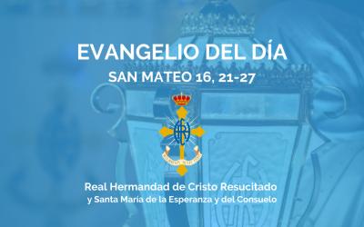 AGENDA HCR | XXI DOMINGO DEL TIEMPO ORDINARIO