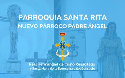 PQA. SANTA RITA   NUEVO PÁRROCO PADRE ÁNGEL