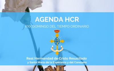 AGENDA HCR | XXX DOMINGO DEL TIEMPO ORDINARIO