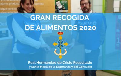 ACCIÓN SOCIAL | RECOGIDA BANCO DE ALIMENTOS DE ZARAGOZA