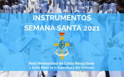 INSTRUMENTOS | SEMANA SANTA 2021