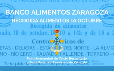 BANCO ALIMENTOS ZARAGOZA | RECOGIDA ALIMENTOS 10 OCTUBRE