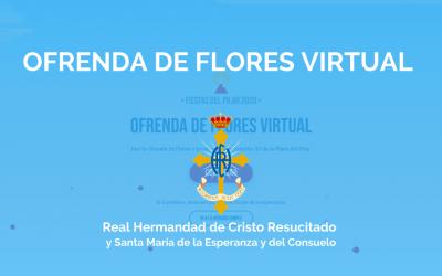 OFRENDA DE FLORES VIRTUAL