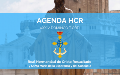 AGENDA HCR | XXXIV DOMINGO T.ORD.
